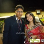 Young dynamic Ollywood reporter Sriram with Dream girl Anu choudary