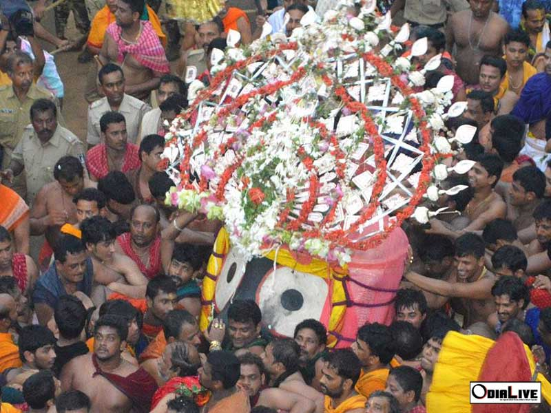7 amazing pictures of Ratha Yatra Puri