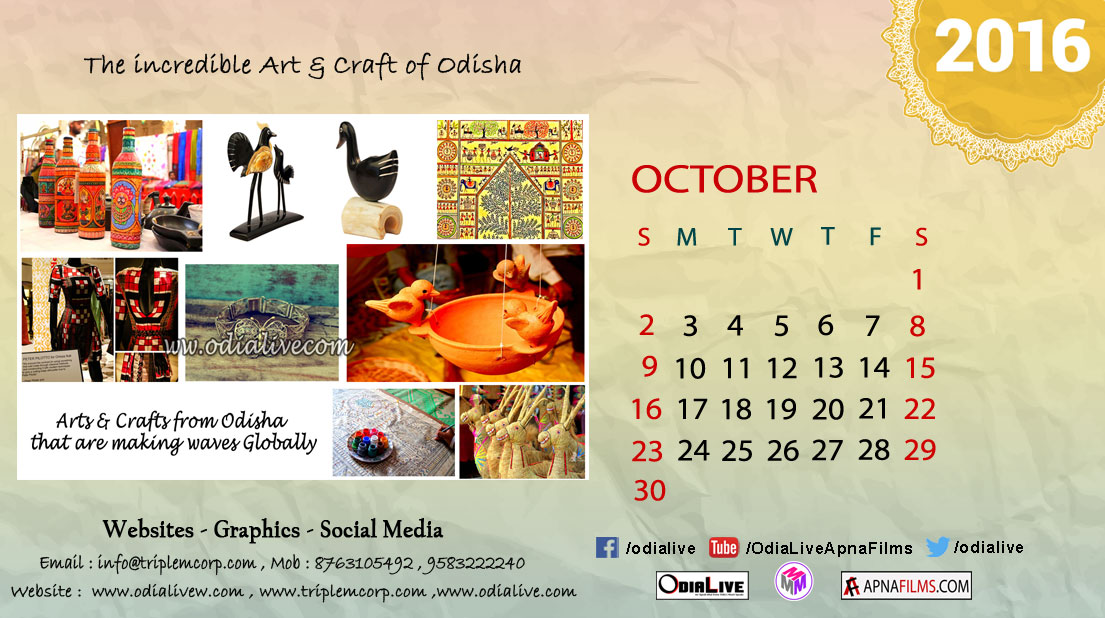 Odialive-calender-2016-october