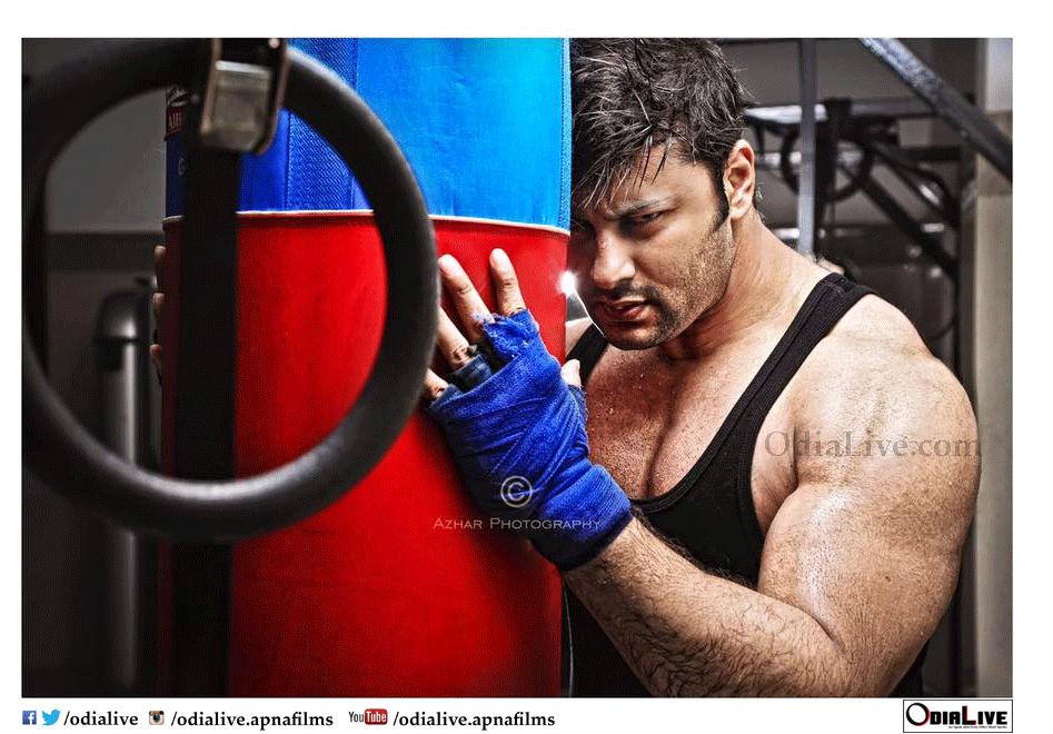 New Look of Hotshot Superstar Anubhav Mohanty