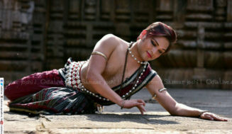 Internationally  acclaimed  Odissi  dancer and choreographer Saswat  Joshi