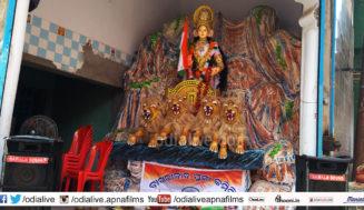 Cuttack Durga Puja 2019: କଟକ ଦୁର୍ଗା ପୂଜାର ଅନ୍ୟତମ ଆକର୍ଷଣ ବାଖରାବାଦ୍ ର ଭାରତ ମାତା ଙ୍କ ପୂଜା