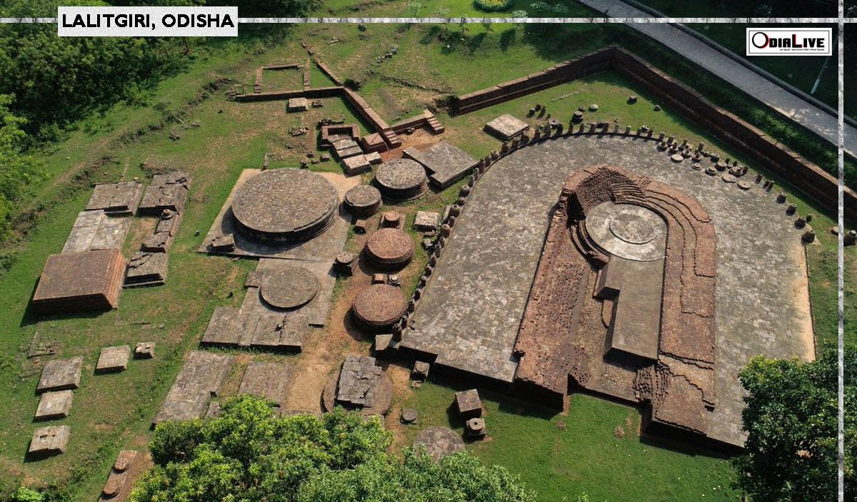 Lalitgiri Buddhist complex & Museum in Odisha